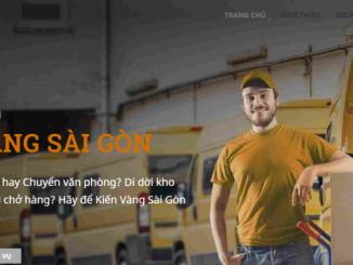 Kiến Vàng Sài Gòn đơn vị vận chuyển hàng hóa đáng tin cậy dành cho bạn