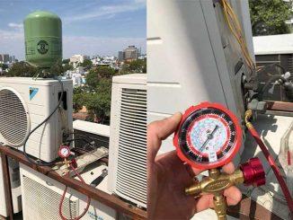 Quy trình dịch vụ tháo lắp máy lạnh điều của Kiến Vàng Sài Gòn