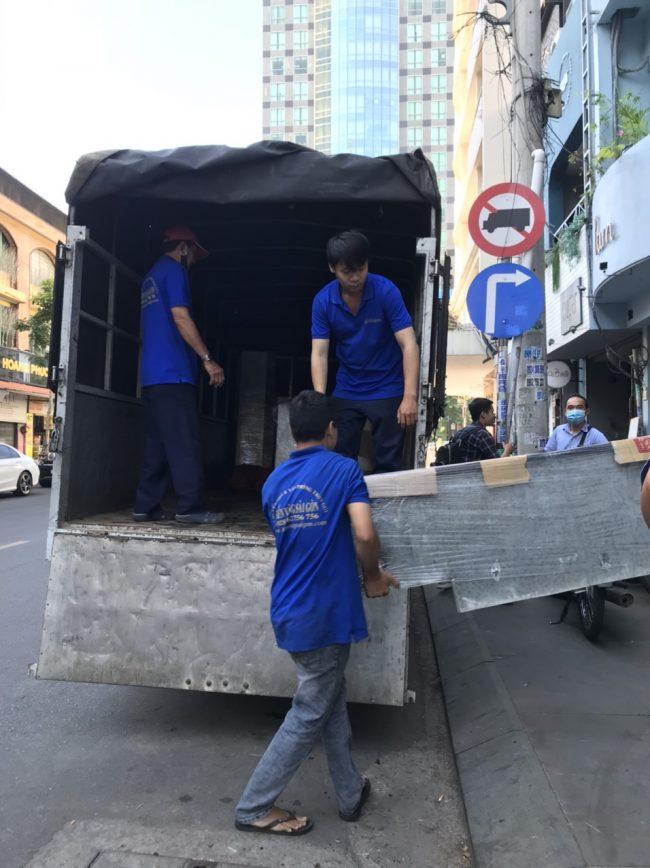 Kiến Vàng - Vận chuyển nhà văn phòng trọn gói tphcm