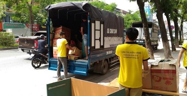 Kiến Vàng Sài Gòn vận chuyển hàng hóa đảm bảo an toàn