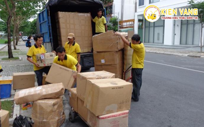 Quy trình chuyển văn phòng của Kiến Vàng Sài Gòn